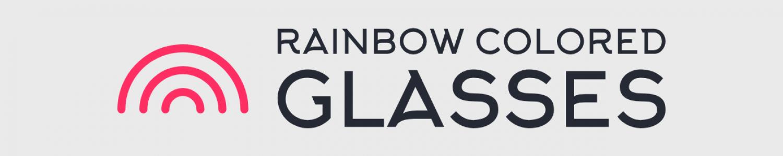 Rainbow Colored Glasses
